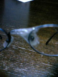 メガネが・・・・・・